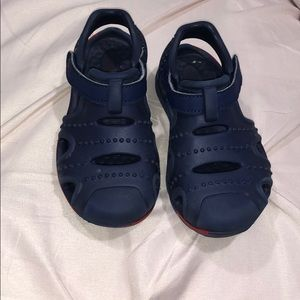 Surprize by Stride Rite Navy Sandals